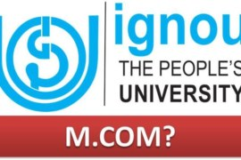 How to do MCOM from IGNOU?