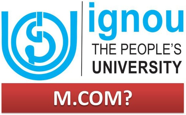 Masters in Commerce IGNOU