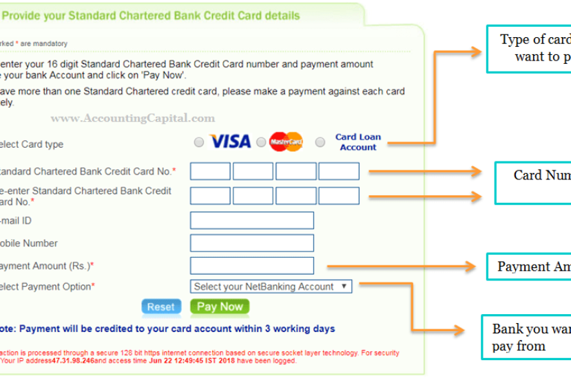 How to Pay Your Credit Card Bill From Another Bank?